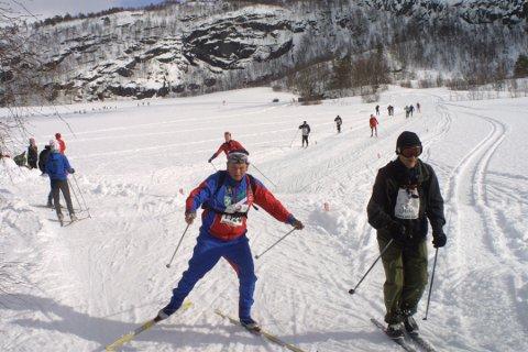 Rolf Hompland var blant deltakerne i Sesilåmi i 2008. Fjorårets renn ble avlyst.