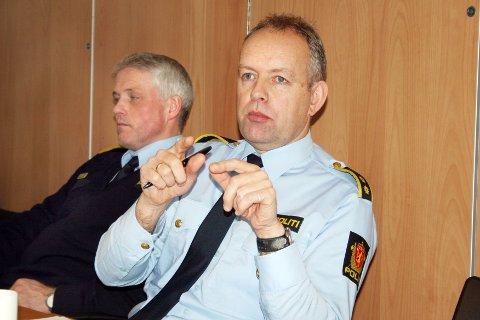 John Mong har tidligere vært sentral ved Eigersund politistasjon. For tida er han forbundssekretær i Politiets Fellesforbund.