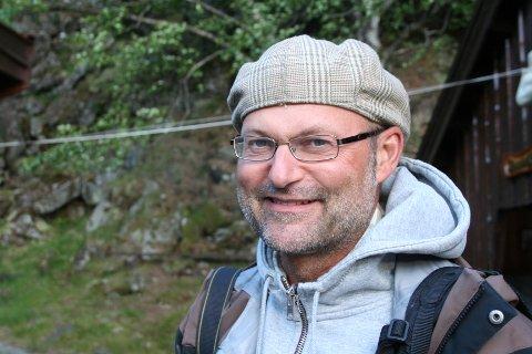 Pål Thjømøe er daglig leder for Magma geopark.