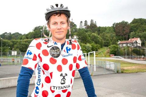 Onsdag kan du få sjekket sykkelen din ved Sokndalshallen. Ken Frode Omdal bidrar til dette sammen med flere fra sykkelmiljøet på Haua.