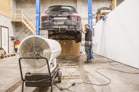 VOKST: På fem år har Eik Auto-Tech vokst fra én til fem ansatte. - Og 2020 ser ut til å gi oss omsetningsrekord, sier eier Cato Eik. (Arkivfoto)