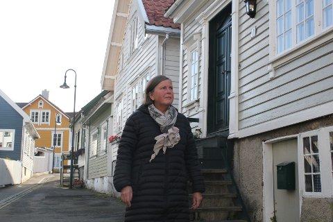 KOSELEG BY: Anne Greibrok har starta arkitektkontor i Egersund. Ho valde Egersund fordi byen er koseleg, og fordi ho har lyst å jobba med rehabilitering av gamle hus.