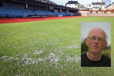 KLAR TALE: Pete Seglem er æresmedlem i Eiger og en sentral person i idrettslivet i Eigersund i en årrekke, ikke minst på anleggssida. Han mener EIK bør få Idrettsparken gratis.