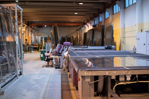 KONKURS: Vikeså Glassindustri AS er konkurs. Over 20 tilsette mistar jobben.