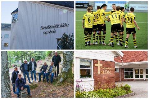 Menigheten Samfundet Egersund fikk 198.852 kr, Egersunds idrettsklubb fikk 845.058 kr, Egersunds Mandssangforening fikk 152.029 kr og Pinsemenigheten Sion fikk 242.602 kr.