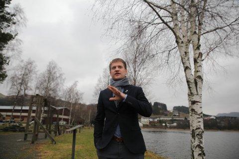 TROR DE VINNER: Mange kommuner jobber nå for å tiltrekke seg areal- og kraftkrevende industri. Bjerkreims ordfører Kjetil Slettebø er trygg på at de ligger veldig godt an i det kappløpet.