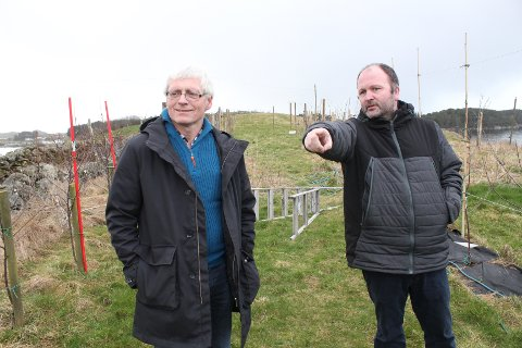 STARTA RING: Eivind Koldal og Magnus Østebrød er to av fem initiativtakarar til Reko Dalane.