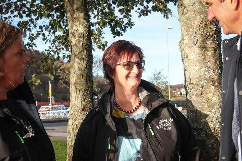 SØKER FRIVILLIGE: Daglig leder ved Frivilligsentralen i Eigersund kommune, Nina Løvø, ønsker nå hjelp av frivillige. Hun håper å mobilisere folk til å stille som ringevenner.