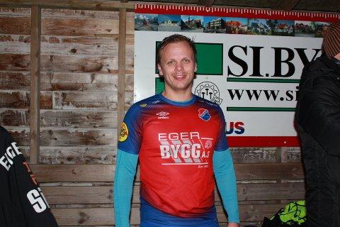 """HATTRICK: Hans Marius """"Pokey"""" Slettebø scoret sine mål nummer 200, 201 og 202 for Eiger mot Varhaug."""