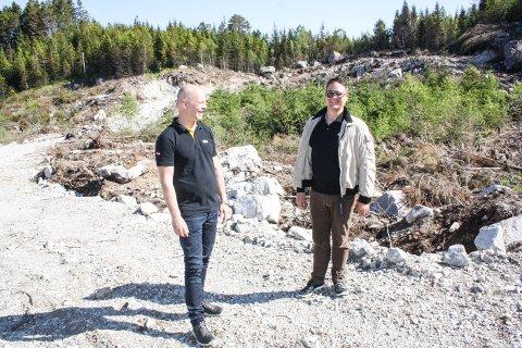 NYTT SELSKAP: Eiendomsselskapet Tengsareid 4 AS er etablert av Stian Søsæther (t.v.) og Hans Petter Bøgh Havsø.