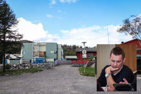 FUNNET HABIL: Formannskapet gjorde feil da Morten Øglend (innfelt) ble kjent inhabil under en orientering om nye Eigerøy skole.