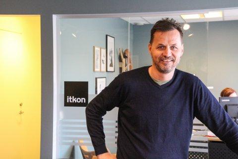 STYREENDRING: Kim Skjæveland er styreleder i Itkon AS. Han har fått med seg et nytt styremedlem.