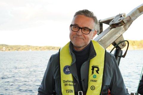 Fiskeri- og sjømatminister Odd Emil Ingebrigtsen (H).
