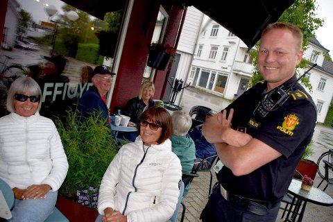 POLITIKONTAKT: Ingve Flikka, ny politikontakt i Sokndal, mener det er viktig å skape gode relasjoner til innbyggerne.