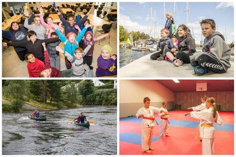 HAR FÅTT PENGAR: Sokndal skolekorps, Egersund seilforening, Heroes of Haua og Egersund kyokushin karate klubb er blant dei laga og foreiningane som har fått pengestøtte.