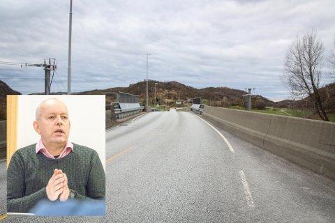 VIL HA FORPLIKTENDE SVAR: KrFs gruppeleder i Eigersund, John Mong, mener det må slås fast når utredningen av ny tilførselsvei mellom Egersund og nye E39 skal være ferdig.