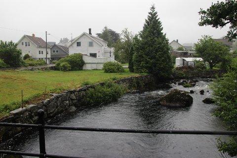 """MINDRE GOD KVALITET: Tre av tre ganger har badevannet ved Elverhøy fått påvist kvaliteten """"mindre god"""" i sommer."""