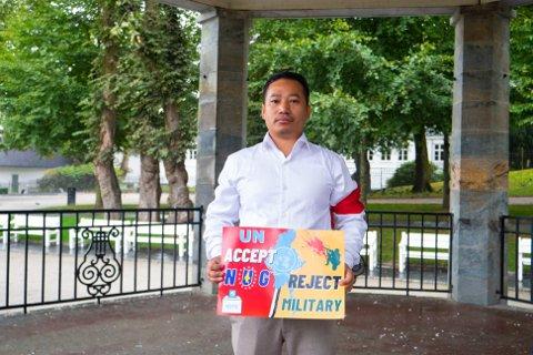 HÅPER: Lunddølen Tial Kio Thang Mang Lian håper at FN ikke vil anerkjenne militærkuppet i Burma.