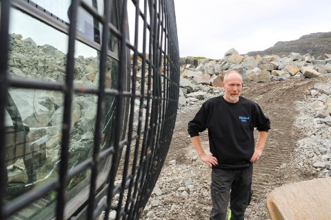 NY JOBB: Alf Børge Slettebø har begynt i Eikeland Stein AS.