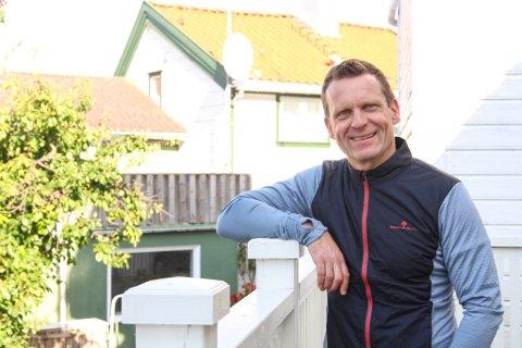 NY DAGLIG LEDER: Eigersunderen Ulf Tjåland har drevet for seg selv i 11 år. Nå skal han snart starte i ny jobb som daglig leder i Magma Geopark.
