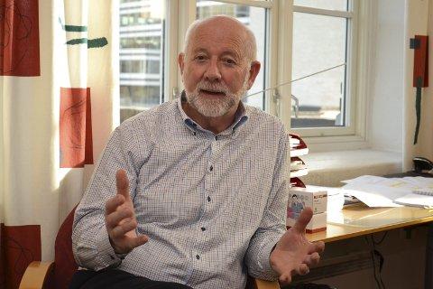 NHO: Per Steinar Jensen etterlyser en debatt som  ser forbi kommunegrensene og har fokus på regionen. Foto. Lars Johnsen.
