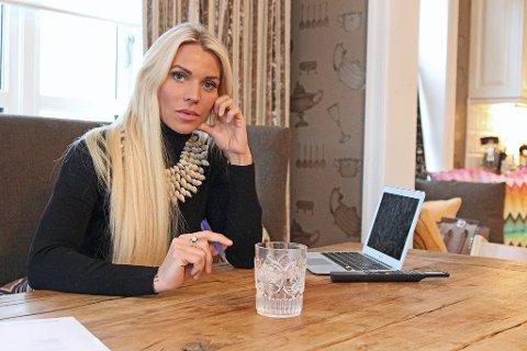 Maria Høili hjemme i Lier Foto: Farid Ighoubah / Nettavisen