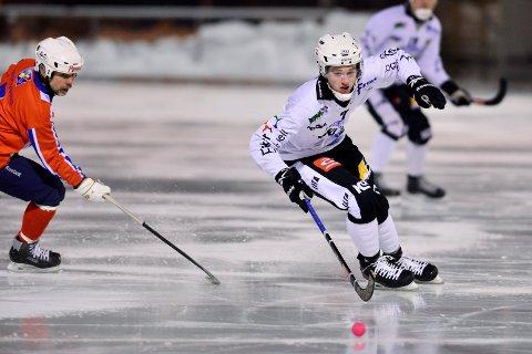 Scoret tre: Sondre Kristoffersen satte inn tre mål mot Ullevål.