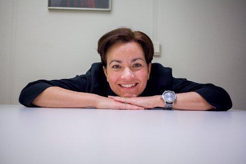 MER ARMSLAG: Lier-ordfører Gunn Cecilie Ringdal er fornøyd med statsbudsjett-forslaget, som gir Lier litt mer økonomisk armslag.