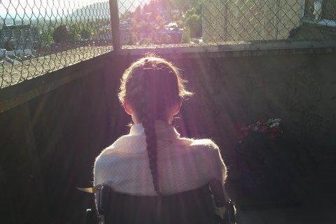 INNLAGT: Marie ble akuttinnlagt på sykehuset våren i tiende klasse, på grunn av fare for hjertesvikt.