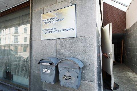 Den islamske stiftelse i Norge. Det islamske kultursenter i Drammen. Tordenskiolds gate 40. Drammen