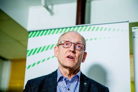 GENERALSEKRETÆR i SP: Knut M. Olsen.