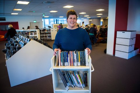 AVDELINGSLEDER: Monica Nyhus blir avdelingsleder for bibliotek voksne.