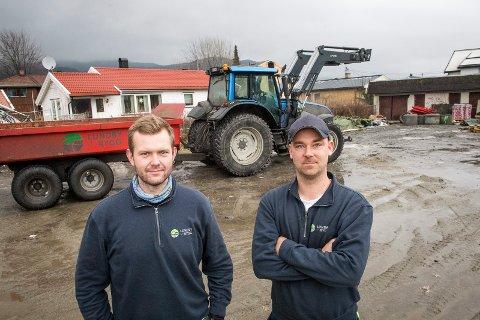 EGET FIRMA: Da arbeidsgiveren gikk konkurs valgte Kristoffer Lundby og Morten Alstad-Rygg å satse sammen i nytt selskap. Det har de lyktes med.