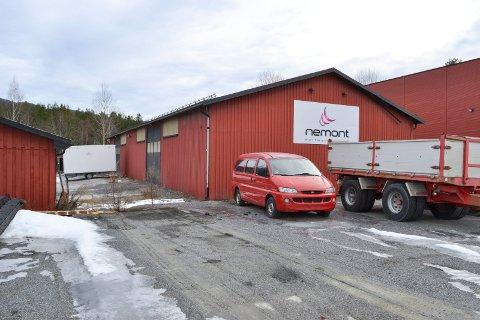 KONKURS: Nettmontasje AS, som holdte til på Loesmoen i Øvre Eiker, begjærte mandag oppbud og konkurs ble åpnet.
