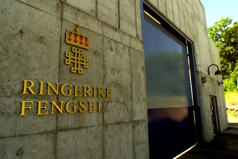 RINGERIKE 20010705: Ringerike fengsel. Foto: Bjørn Sigurdsøn / SCANPIX