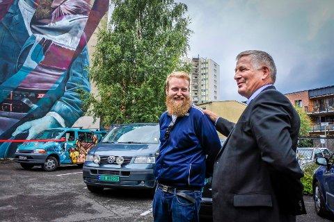 Eric Ness og Tore Opdal Hansen