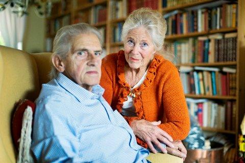 ENGASJERT: Marit Bugge lar seg ikke pille på nesen. Hun godtar ikke behandlingen hun og hennes kreftsyke mann Karl Fredrik Dahl har opplevd fra Pasientreisers side.