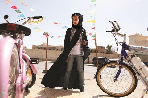 Spillefilmen «Den grønne sykkelen» fra Saudi-Arabia vises på Black Box som en del av arrangementet på Union.