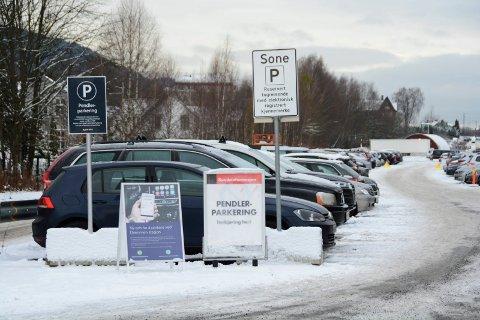 Ny pendlerparkering ved Nybyen.