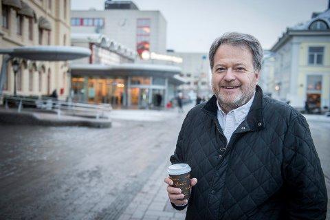 MELDER SEG UT: Ansvarlig redaktør i Teknisk Ukeblad Jan M. Moberg meldte seg ut av St.Olavs Klub på 8. mars i protest mot klubbens manglende åpenhet og at den er lukket for kvinner. En torskeaften for kun menn på Kvinnedagen, fikk begeret til å flyte over.
