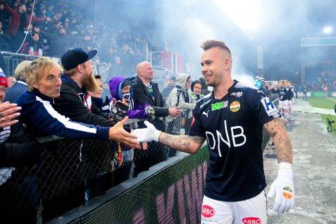 KLAR: Marcus Pedersen vil gjerne spille i utlandet igjen, men vil gi alt for Strømsgodset først.
