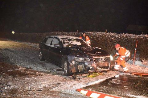 59-åringen var involvert i en ulykke i Holmsbu i romjulen.