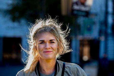 BYTTER KLUBB: Veronica Kristiansen har i tre år bodd i Århus der hun har spilt håndball i FC Midtjylland. Her hun fotografert i Århus sentrum.