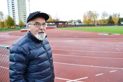 AKSJONIST: Per Erik Marheim fronter «Redd Marienlyst!»