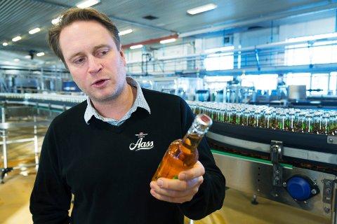 REMA-AVTALE: Aass Bryggeri får kun selge sitt øl i Rema-butikker i nedre Buskerud. Det tapte salget vil amdinistrerende direktør Christian A. Knudsen Aass ta igjen i andre markeder.