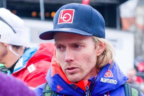 Markedssjef Bjørn Einar Romøren i Norges skiforbund i Vikersund søndag.