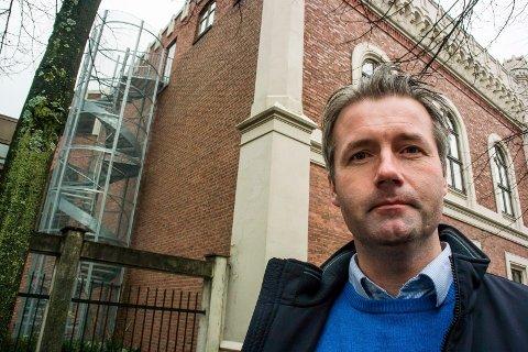 Utdanningsdirektør i Drammen kommune - Jan Sivert Jøsengdal.