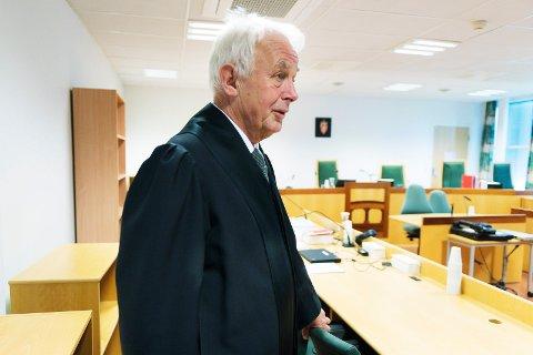 VANT: Politiadvokat Hans Lyder Haare overbeviste retten om at den tiltalte er skyldig i medvirkning til grov korrupsjon.