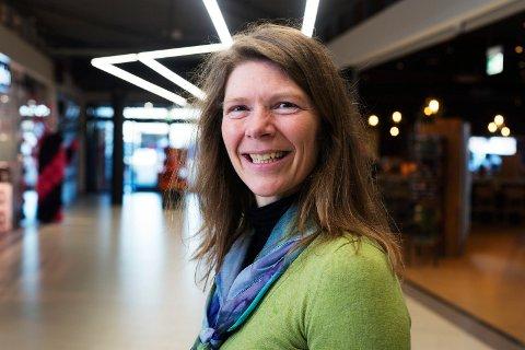 1,3 milliarder kroner handlet vi for hos senterleder Tanja Venheim Østensen på Buskerud Storsenter i fjor.