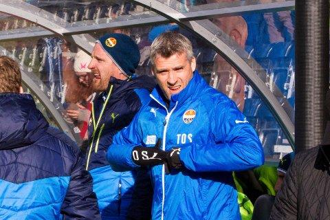 UAVGJORT: SIF-trener Tor Ole Skullerud opplevde at det ble uavgjort 1-1 mot Sogndal borte.